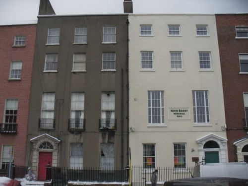 Kevin Barry Hall, 44 Parnell Square. This is the premises that was raided by Gardaí. (Image: Archiseek)