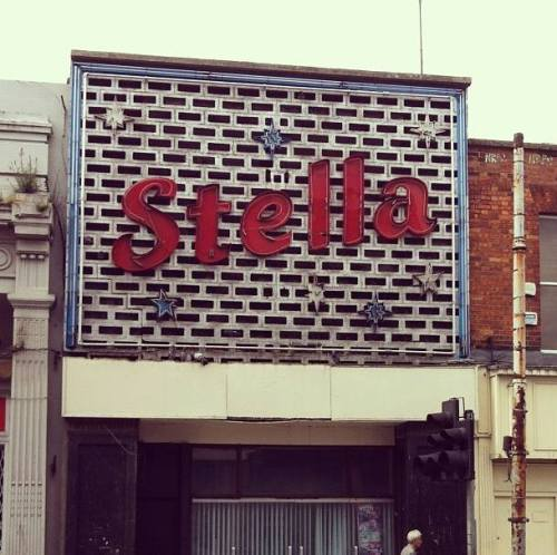 The historic Stella signage in Rathmines (Image: Paul Guinan)