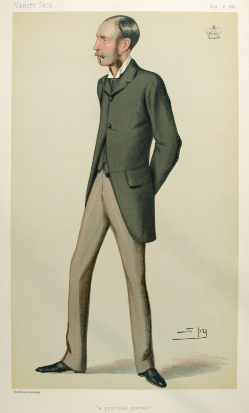 1880 illustration of Arthur Edward Guinness, Lord Ardilaun (Vanity Fair/Wiki)