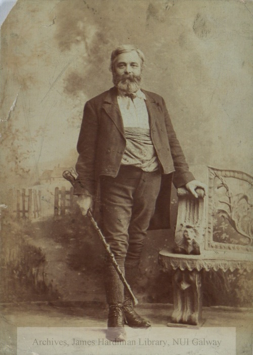 Michael Cusack, founder of the GAA. He was a familiar sight in An Stad. (Image: NUI Galway Archives,  http://archives.library.nuigalway.ie/cusack/)