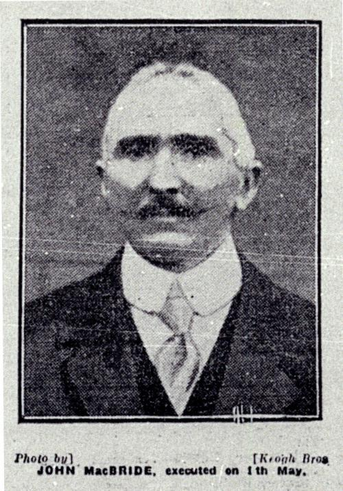 Major John MacBride, whose presence in An Stad was noted by intelligence police (Image Credit: South Dublin County Council Libraries)