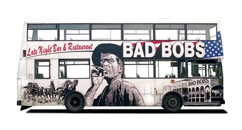 Bad Bobs. From 'The Art of Painting Buses'.
