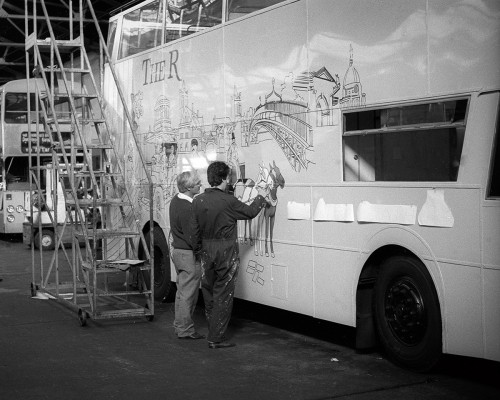 From  'The Art of Painting Buses'.
