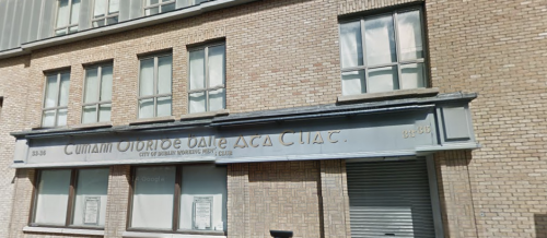 City of Dublin Working Men's Club, Little Strand Street from Google Maps.