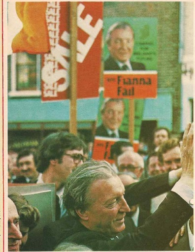 Haughey on the campaign trail (Magill)
