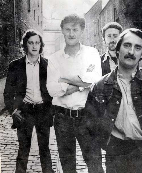 Freddie White Band in the early 1980s. From left, Declan McNeilis (bass), Freddie White, Arty Lorrigan (drums) and Chris Meehan (piano). Credit - freddiewhite.com