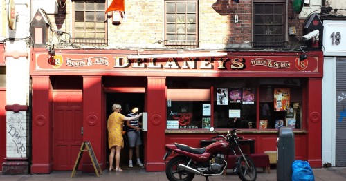 Delaney's, Aungier Street from c. 2015. Credit - Jar.ie.