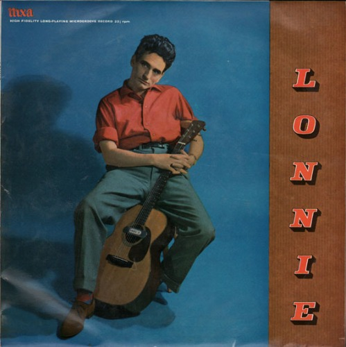 Lonnie Donegan - Lonnie (November 1957). Credit - windmill-records.co.uk