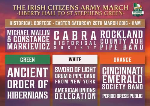Saturday 26th March. SF parade.