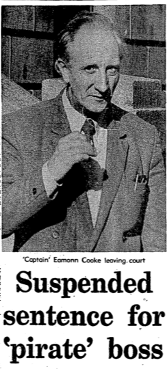 Eamon Cooke newspaper report. (Irish Press, 04 Nov 1986).