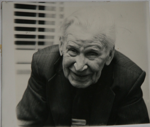 Conrad in his 90s. Credit : Brady Collection via Sandra Bondarevska.
