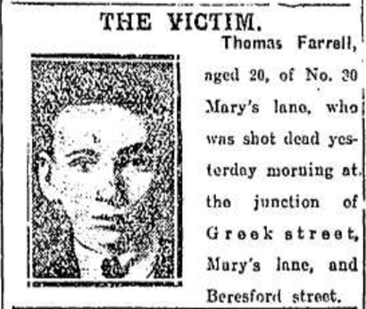 Evening Herald, 11th August 1920.
