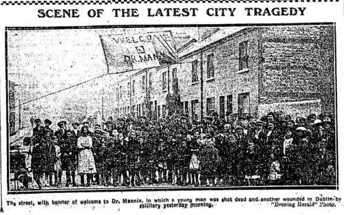 The Evening Herald, 11th August 1920.