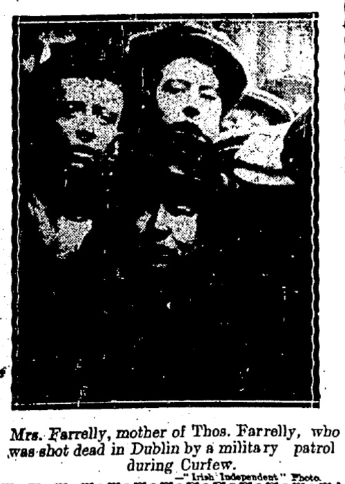12 August 1920, Irish Independent.