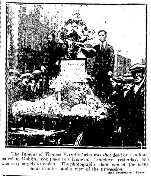 Irish Independent, 14th August 1920.