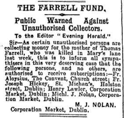 18 August 1920, Irish Independent.