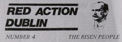 Red Action (Ireland), newsletter no. 4.