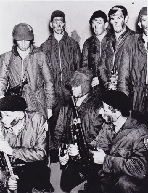 """A group of IRA men before embarking on an operation"" in the 1950s. Credit - http://laochrauladh.blogspot.ie/"