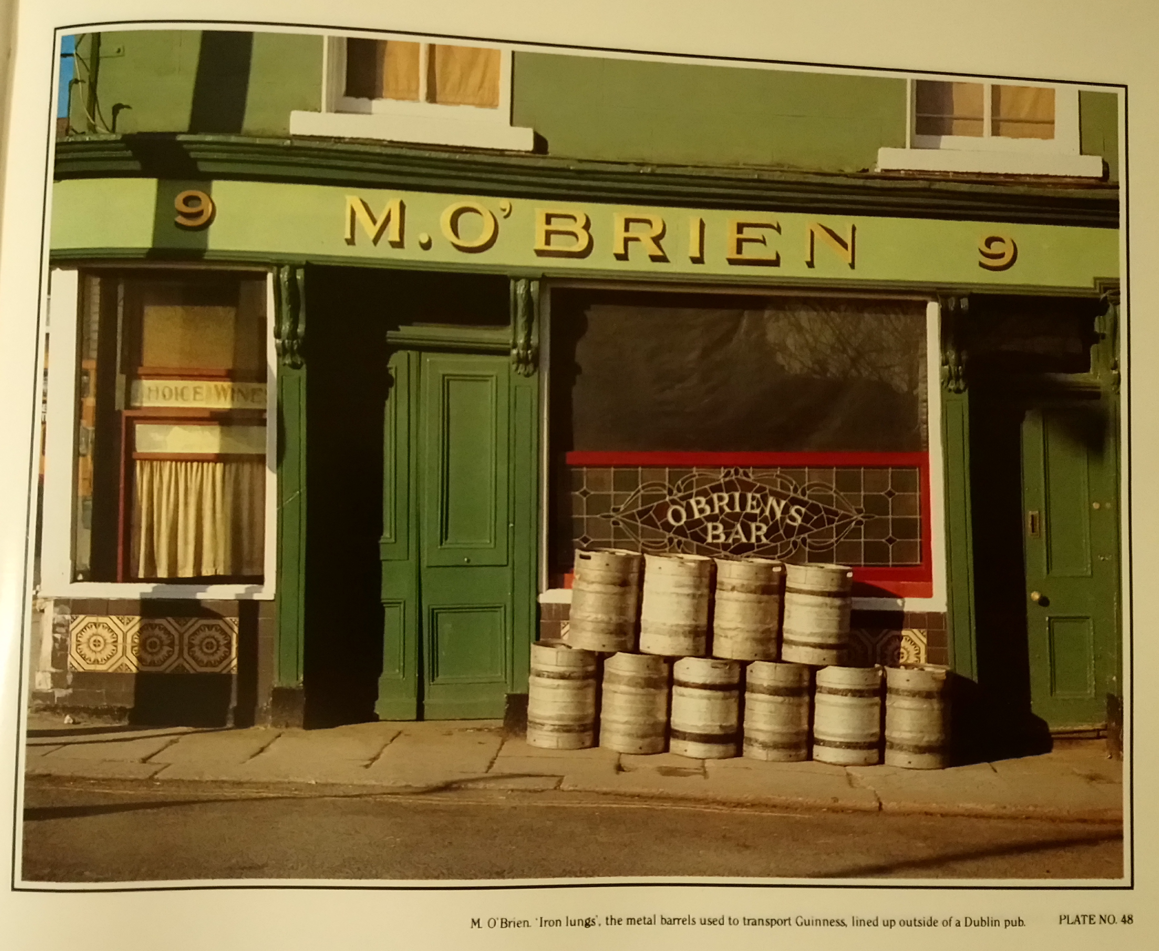 ebd4389467192 M. O'Brien's pub at 8-9 Sussex Terrace, close to Leeson Street Bridge. A  boozer we sampled during one of our last pub crawls in June 2012.