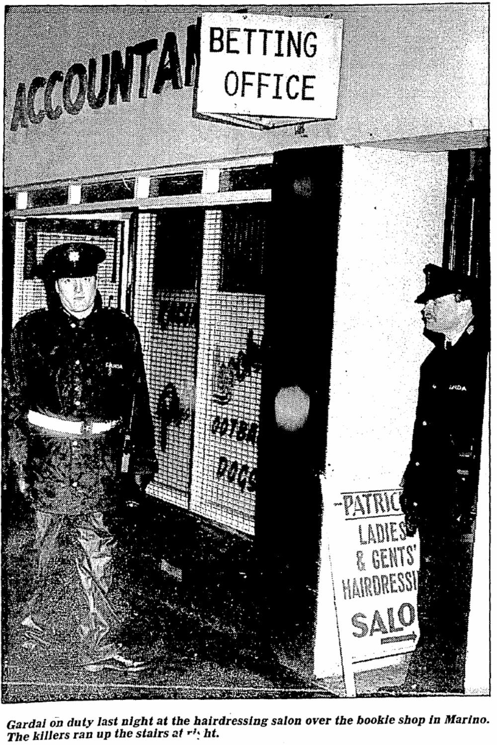 Gangland murders in Dublin (1990-94)